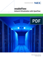 NEC ProgrammableFlow Redefining Cloud Network Virtualization With OpenFlow