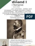Regele Ferdinand I al Romaniei