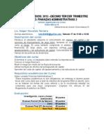 Finanzas Administrativas 3