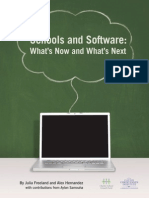 Schools and Software What's Now and What's Next