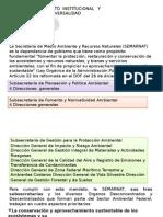 Organización y Facultades de La Administración Pública Ambiental
