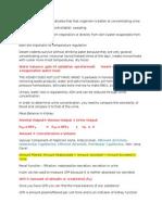 BIO Study Sheet Test 2