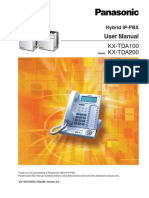 Panasonic KX TDA100/200