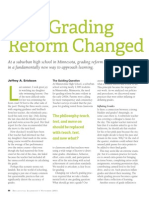 how grading reform changed our school - article