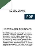 boligrafo