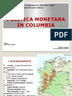 Politica Monetara in Columbia1 2003