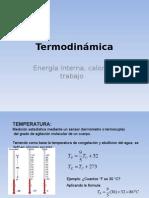 Termodinámica FÍSICAII UNIVERSITARIA