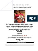 PIP Parinacochas