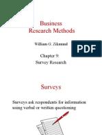 9. Survey Research