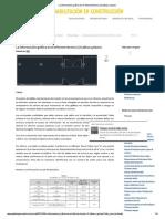 La Información Gráfica en El Informe Técnico (2) Tablas y Planos