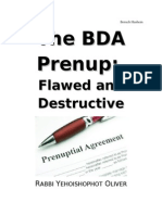 The BDA Prenup