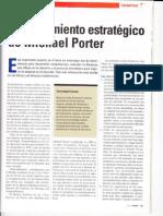 Artículo Pensamiento Estratégico de Michael Porter
