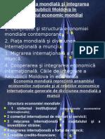 ECONOMIA MONDIALĂ