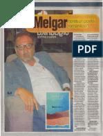 """""""Melgar no es un poeta romántico"""", José Gabriel Valdivia"""