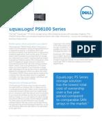 Specs PS6100 Series Dell
