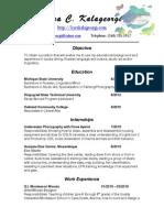 k.c.k. Resume 2015 (Updated)