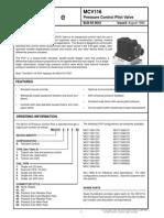 4 Sauer Pressure Control Pilot Valve MCV116 (2)