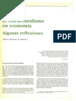 Estructuralismo en Economía