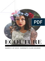 ECOuture 2015 Program