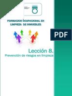 Tema 8_Prevención de Riesgos Laborales en Limpieza