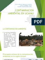 La Contaminacion Ambiental en Ucayali