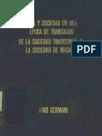 GERMANI GINO- Política y Sociedad en Una Época