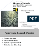 Strategies of Research Design