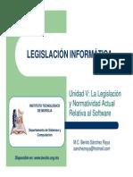 05legislacioninformatica-legislacionynormatividadrelativaalsoftware-111110161620-phpapp02 (1) (1).pdf