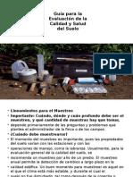 evaluacion de calidad  del suelo
