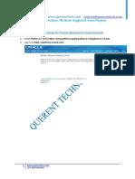 Oracle Fusion Apps JDeveloper Setup