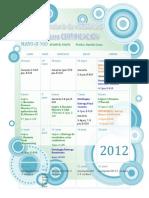 Calendario Asesorias Luna 2012-1