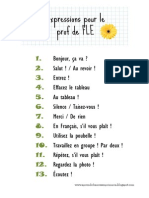 Expressions Prof FLE