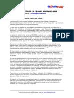 Sistemas de Gestion de La Calidad ISO-9000