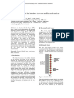 Modelos de Doble Capa electroquimica