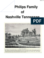 The Philips Family of Nashville Tennessee