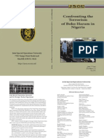 Boko Haram JSOU Report 2012