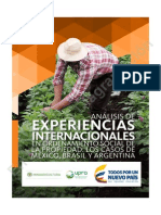 Análisis de Experiencias Internacionales en El Ordenamiento Social de La Propiedad