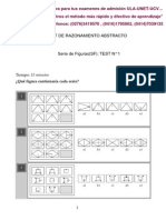 Figuras Abstractas Test 1 RESPUESTAS