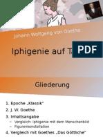 Iphigenie Auf Tauris - Powerpoint