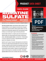 AGMATINE SULFATE is Super L-Arginine in Nitric Oxide Supplements by Max Muscle Sports Nutrition 2015