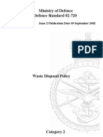 NES 720 Waste Disposal Policy - Category 2