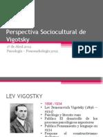 10. Perspectiva Sociocultural de Vigotsky
