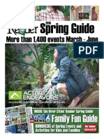 River Cities' Reader 2015 Spring Guide and KWQC Family Fun Guide.