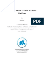 Design and Control of a DC Grid for Offshore Wind Farms Final 20121206
