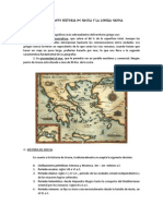 Breve Historia de Grecia y La Lengua Griega