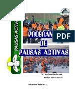 PAUSAS ACTIVAS EN LA SEGURIDAD