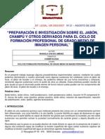 Preparacion Del Champu de Cabello