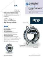 Pw Series Wafer Check Valves