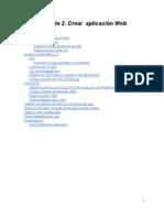 Crear aplicación Web en java y netbeans