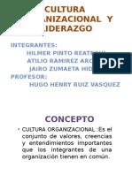 CULTURA  ORGANIZACIONAL Y LIDERAZGO hilmer.pptx